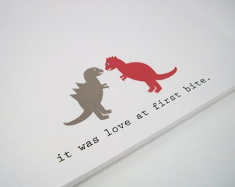 Dino Love Notepad