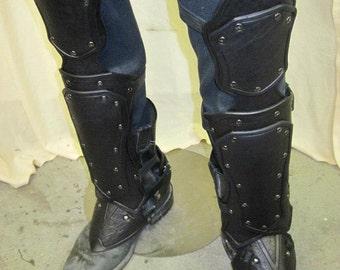 Leather Armor Nightingale Greaves