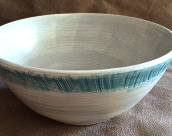Turquoise and Gray Petite Little Bowl