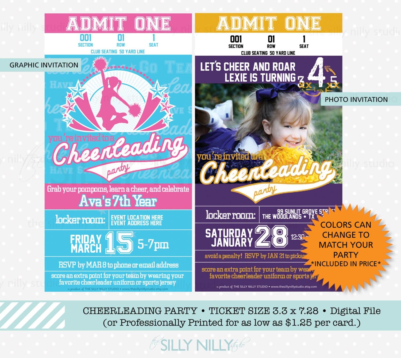 Cheerleading Party Invitations hallmark e invitations medical – Cheerleading Party Invitations