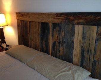 Headboard - Reclaimed barn wood