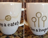 Harry potter inspired couples mugs