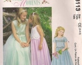 McCall's Sewing Pattern 3113 - Children's and Girls' Dress (3-5, 10-14)