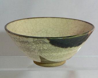 Japanese Oribe-yaki tea ceremony cup