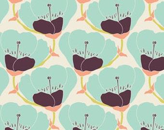 Art Gallery Fabrics - 1 Fat Quarter Nesting Blooms in Warm / Winged - Bonnie Christine