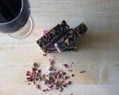 5 Bars Wine & Roses Soap, Scented Soap, Plum Mauve Rose Soap, Handmade Soap, Soap for Her 5oz.