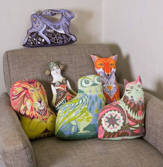 Any 4 Tea Towel / Dish Towel / Cloth Kit Designs for the price of 3 - Silkscreen designs by Sarah Young