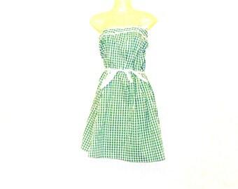 Strapless Dress, Circle Dress, Swing Dress, Womens Dress, Dresses, Size 6, Size 4, By Rebeccas Clothes