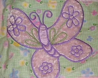 Pink Butterflies Quilt