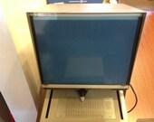 Vintage Microfiche Reader