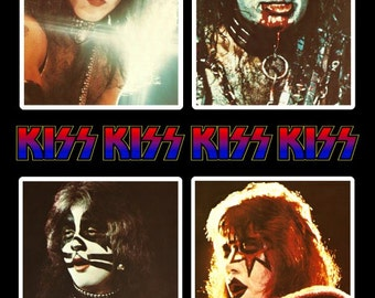 KISS ALIVE II Cover Reproduction Stand-Up Display - Rock Band Music Paul Stanley Collectibles Collection Collector Memorabilia Gift Retro