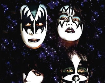 "KISS - ""The Return Of KISS"" Dynasty Era Counter Top Stand-Up Display - Gift Collectibles Collection Collector Memorabilia Vintage Look Retro"