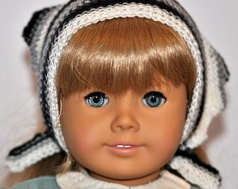 "American Girl Doll Triangle Scarf, Peasant Scarf for 18"" Doll, 18"" Doll Accessory, Head Scarf, Wrap"