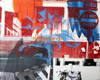 Robert Rauschenberg - Night Shades + Urban Bourbons