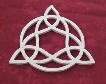 Hard Maple Celtic Candle Trivet