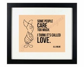 """Winnie the Pooh """"It's Called Love"""" Quote 