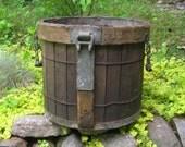 Vintage Industrial Bucket