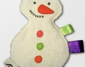 Snowman cuddle cloth