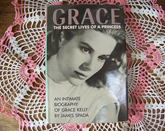 Grace Kelly Biography 1987 Book, Princess Grace, 1950 Movie Star, Actress
