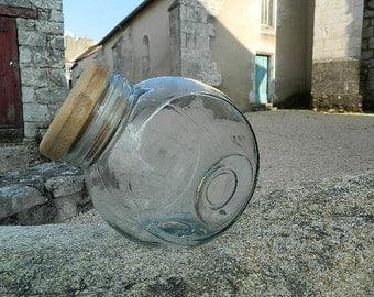 Sweet box glass jar or transparent glass