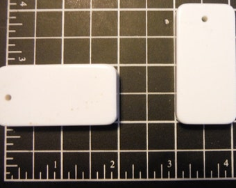 Large Pre-Drilled Dominoes, Blank Pendant