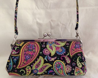 Framed Clutch Purse with Strap......
