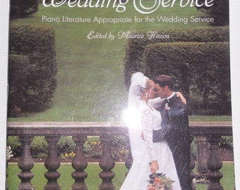 Vintage Music - Classical Music for the Wedding Service - Piano Literature for the Wedding Service 1994