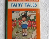 Vintage Rare Childrens Book - The Youngest Reader's Fairy Tales - Mabel Lucie Attwell - 4 Color Prints - Published by Nelson, 1939