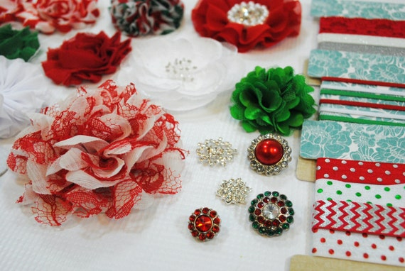 Making Christmas Headbands Diy Headband Making Kit