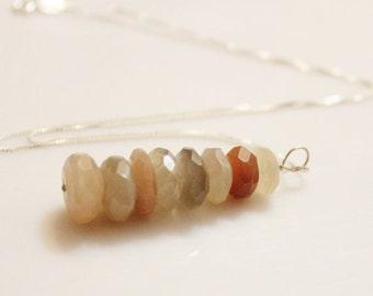 Moonstone Necklace, Moonstone Jewelry, June Birthstone Jewelry