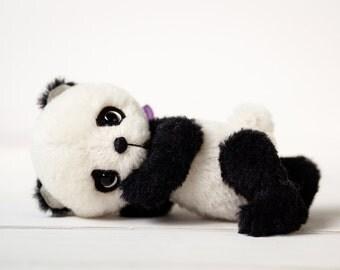 Teddy Bear Pattern baby panda Aron - 20cm tall artist bear PDF