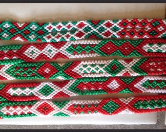 Viva Mexico Friendship Bracelet  - 12 Strings (052s)
