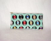 Geeky Chic Pencil Pouch - Vintage Records
