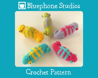 Crochet Pattern: Spectrum the Chameleon