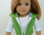 American Girl Doll Clothes - Lollipop Kids Green Apple 3 piece outfit