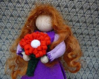 Fairy tale Maiden, Waldorf girl doll, Storytelling Doll, Art Doll