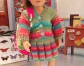 Easter Colored Ensemble for Kidz n Cats Doll