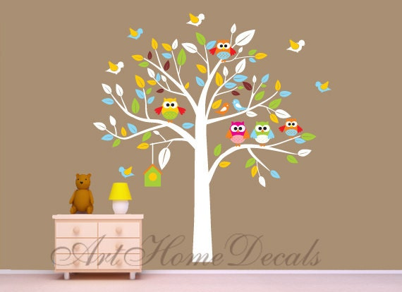 items similar to kids wall decal wall sticker owl decal
