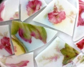 Floral China Shards for Pique Assiette