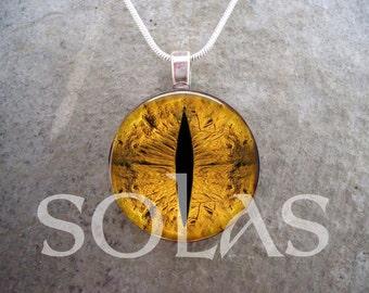 Dragon Eye Jewelry - Glass Pendant Necklace - Dragon Eye 46