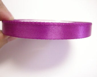 1 of 10mm  satin ribbon roll 25 yards-8994