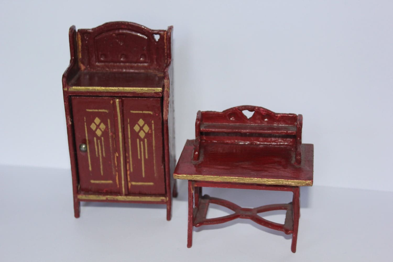 Final Sale Antique German Dollhouse Furniture By Londondollshouses