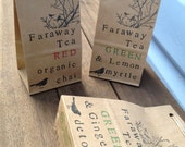 Christmas Red and Green Gift Pack Trinity Pack of 3 Organic Teas with 50% Proceeds to Charity