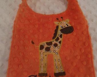 Spotted Giraffe Bib