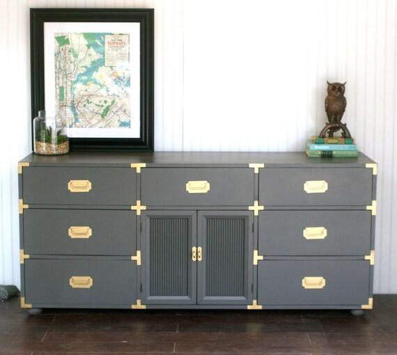 Custom Built Campaign Furniture