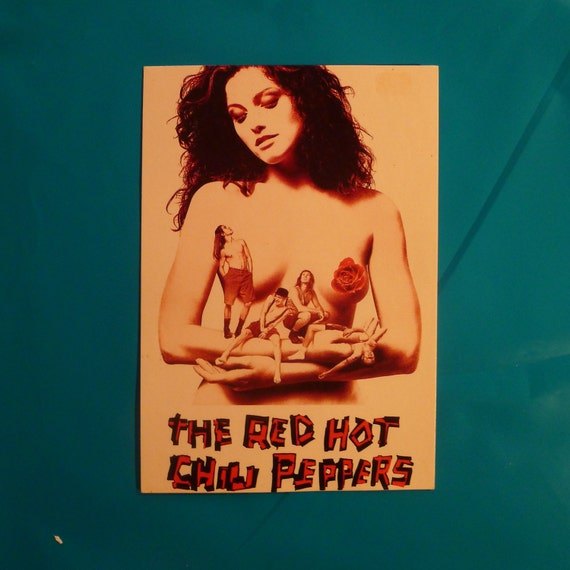 Vintage 1990s Red Hot Chili Peppers Mothers Milk by ...