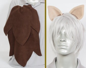 Dr. Whooves Adjustable Ears and/or Tail - buy as a set or separate! Costume sized for Kids or Adults