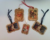 Vintage Tags In Different Sizes, Finish Off Your Christmas Surprises!