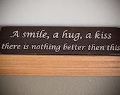 Wooden Sign, Home Decor
