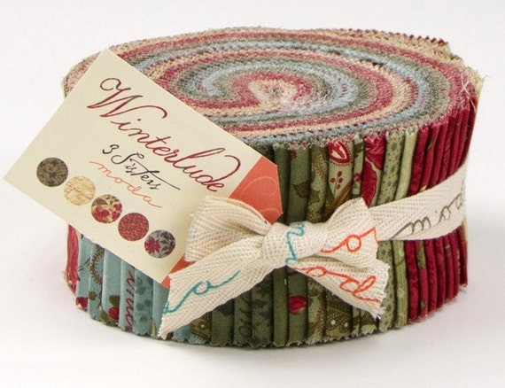 NEW - WINTERLUDE - Jelly Roll by 3 SISTERS for Moda